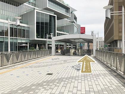 枚方市駅からの道順5