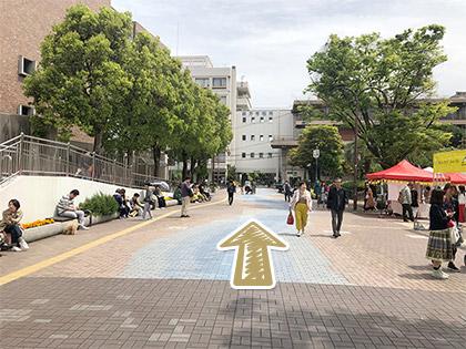 枚方市駅からの道順6