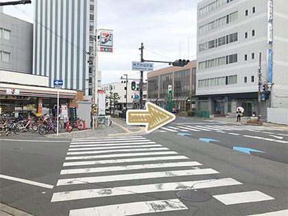 枚方市駅からの道順7