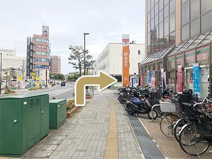 枚方市駅からの道順8