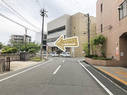 枚方市駅からの道順9